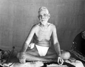 """Ramana Maharashi is infamously connected with the self-inquiry meditation question of """"Who am I?"""""""