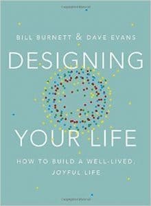 The cover for Designing Your Life: How to Build a Well-Live, Joyful Life is shown. It ranks second on Balanced Achievement's list of the top 10 self-help books of 2016.