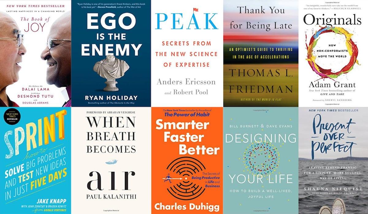 the top 10 self-help books of 2016 | balanced achievement