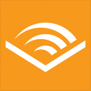 The Audible App icon is shown.