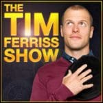 An image shows the icon for The Tim Ferriss Show podcast which is one of Balanced Achievement's top five personal development podcasts.