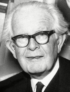 An image shows the iconic psychologist Jean Piaget who made Balanced Achievement's list of history's most influential psychologists.
